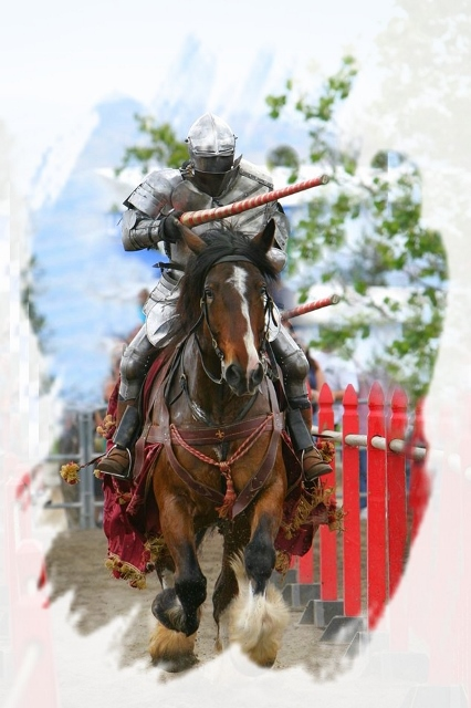 Modern Knight2 by By David Ball derivative work: PRA (Modern-Knight.jpg) via Wikimedia Commons licensed Creative Commons 3.0.